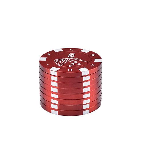 Trita Erba in metallo Poker Chips 42mm