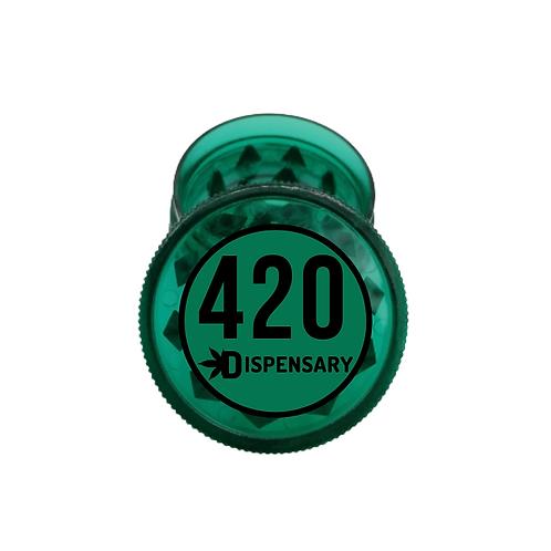 Trita Erba 420 in Plastica Verde 2Parti