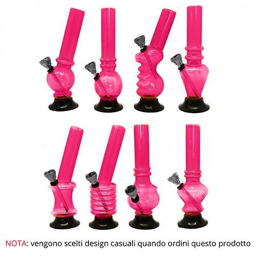 Mini Bong in Acrilico Pink