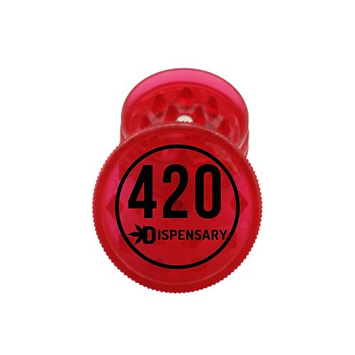 Trita Erba 420 in Plastica Rosso 2Parti