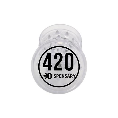 Trita Erba 420 in Plastica Trasparente 2Parti