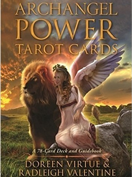 Oracle Cards:  Archangel Power Tarot Cards