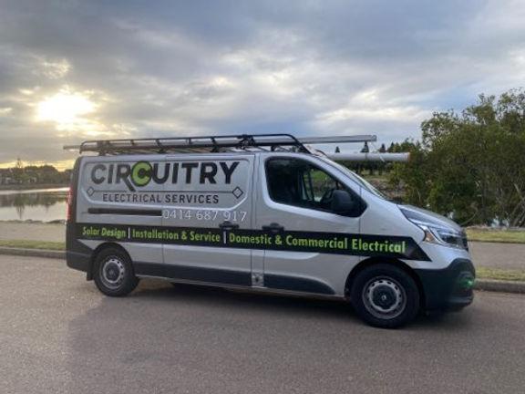Circuitry Electrical Van