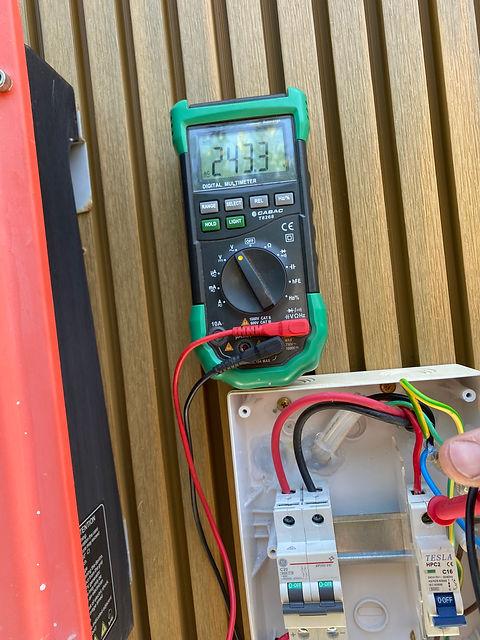 Electric Box Testing