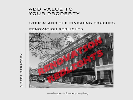 Add Value to your Property |  RENOVATION REDLIGHTS