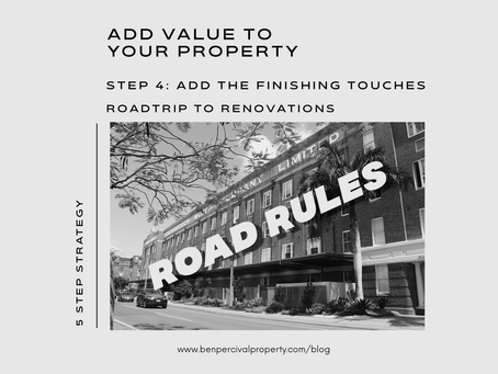 Add Value to your Property | ROADTRIP TO RENOVATIONS