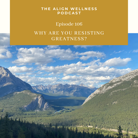 AWP 106: Why Are You Resisting Greatness