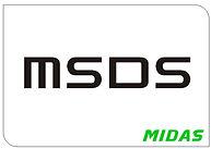 Midas Oilfield MSDS
