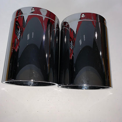 VICBAGGERS CHROME EXHAUST TIPS