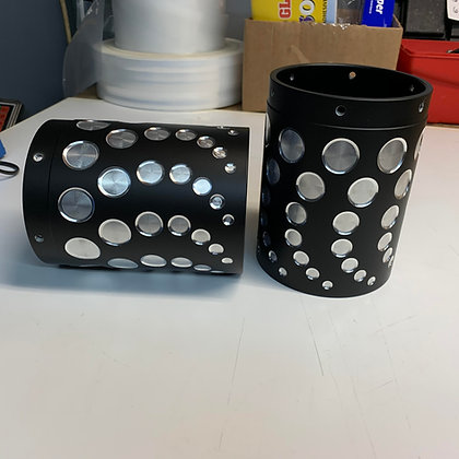 NEW STYLE VICBAGGERS #4 EXHAUST TIPS
