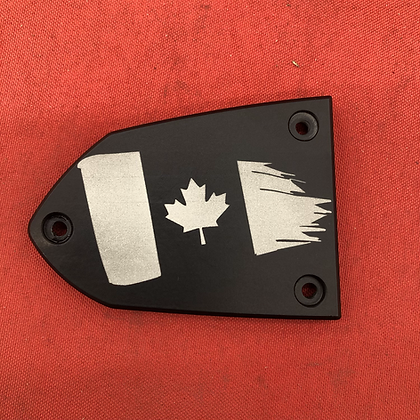 Canadian Flag Front Brake Master Cylinder Cover for Victory Motorcycles