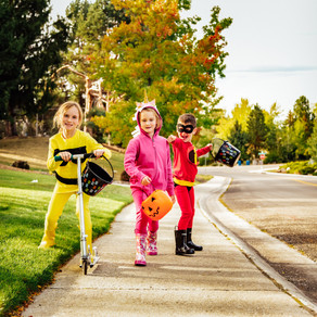 Kids' DIY Halloween Costumes Made With Items They Can Wear All Year