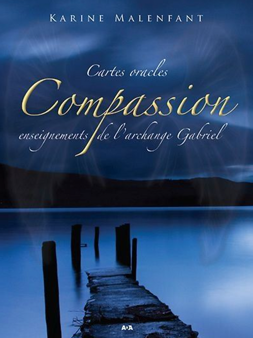 Cartes oracles Compassion Archange Gabriel