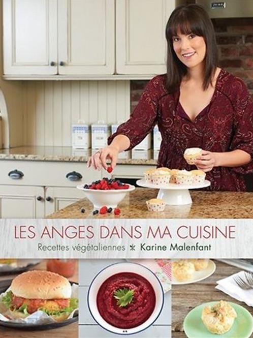 Livre de recettes Les anges dans ma cuisine