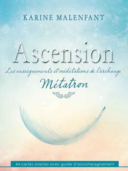 Cartes oracles Ascension Archange Métatron