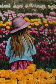 Highly Commended Miniature 'Tulip Time'