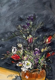 hans freesias ink wc and chalk on paper.jpg