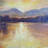 'Sunset at Silvan Dam'