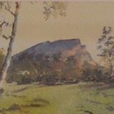 'Mt Sturgeon, from Dunkeld'