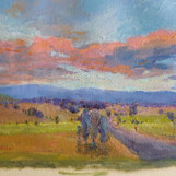 'Twilight Over the Ranges'