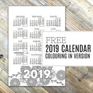 2019-calendar-printable-colouring-300x30