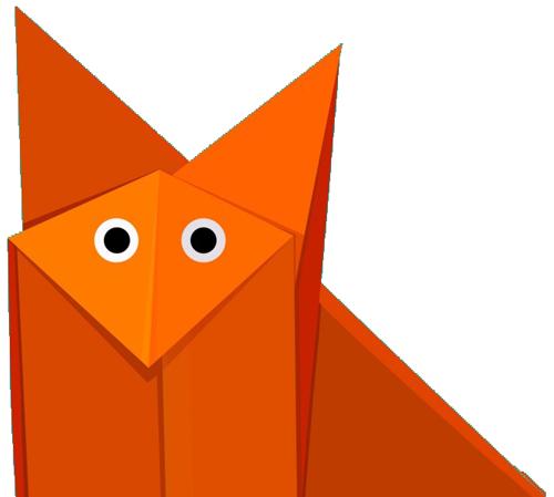 Geometric-Origami-FOX