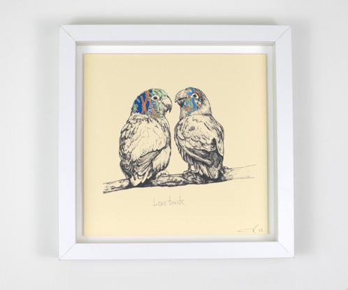 Chiyogami Birds..Love Birds, Robin etc