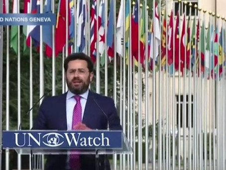 A Watchful Eye Inside the United Nations - An Interview With Hillel Neuer