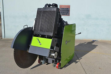 Cleancut 6000HT4 front view with motor &
