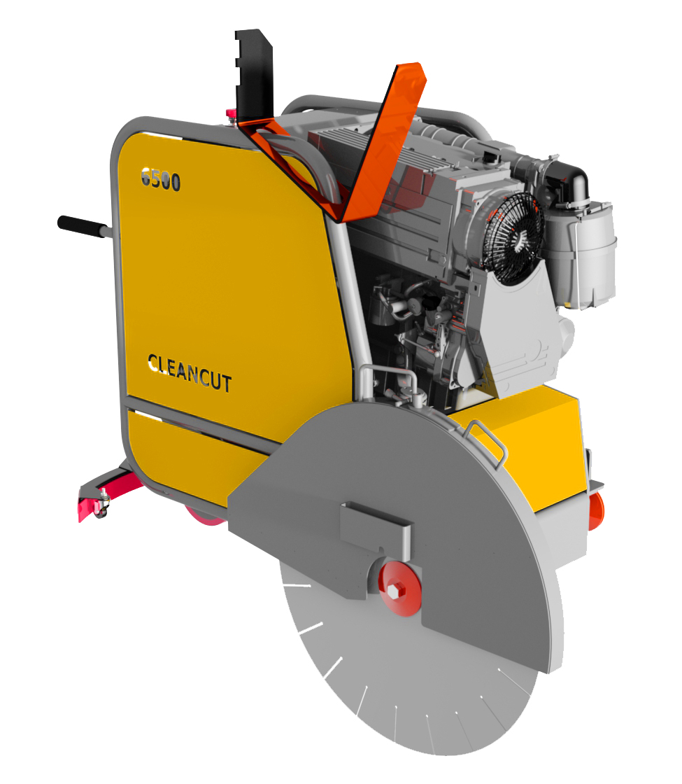 Cleancut 6500 prototype Floor Saw
