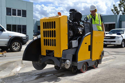 7500 Road Saw in action March 2017