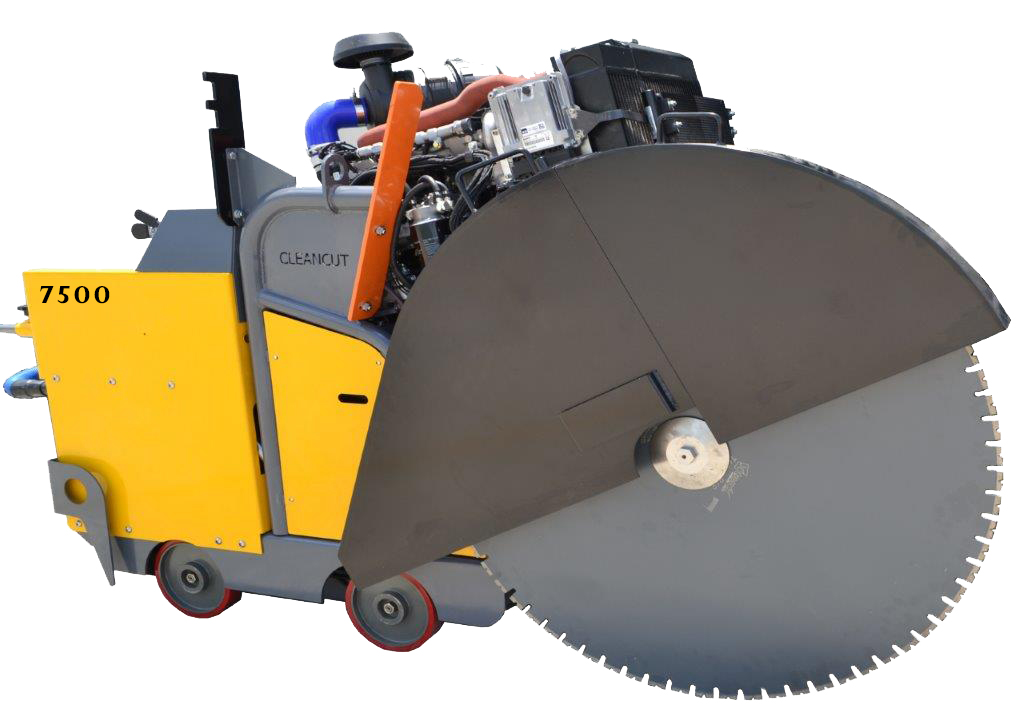 Cleancut 7500 prototype Floor Saw