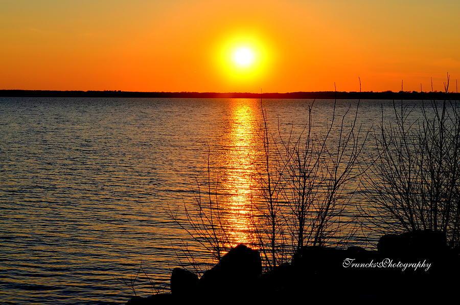 Milford Lake Sunset Kansas Birthday Rockhill Real Estate Group