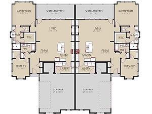 Prairie Village, Manhattan, KS Floor Plan 2 Room