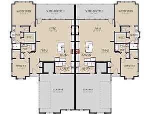 Prairie Village, Manhattan, KS Floor Plan 2 Room