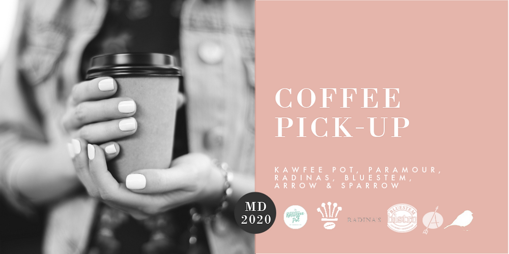 Kawfee Pot, Paramour Coffee, Radina's Coffee, Bluestem Bistro, Arrow Coffee, Sparrow Coffee, Mother's Day Gift Guide Rockhill Real Estate Group