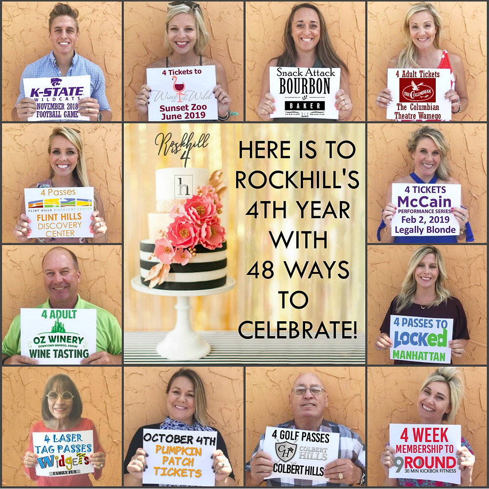 Rockhill Real Estate Group's 4th Birthday Celebration