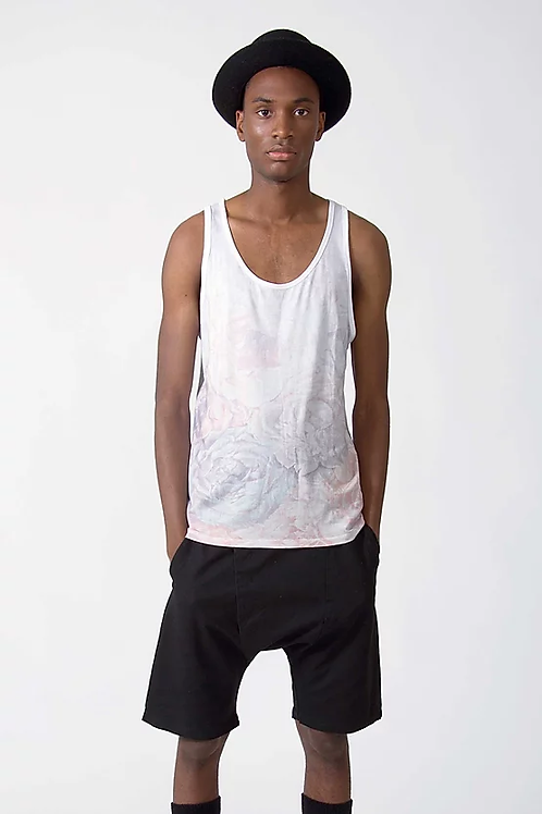 TVOP FLORAL TANKTOP - FADED