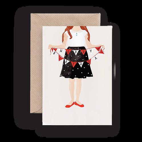 LYKKEFUND HAPPY BIRTHDAY - GREETING CARD