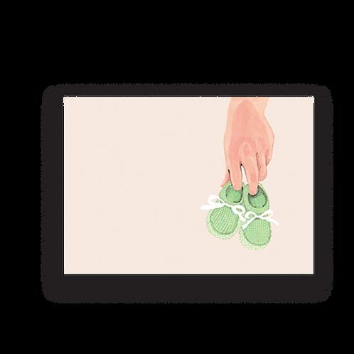 LYKKEFUND HELLO BABY - GREETING CARD