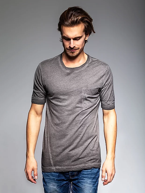 TVOP LOW SLEEVE TEE - GRAPHITE CANDY