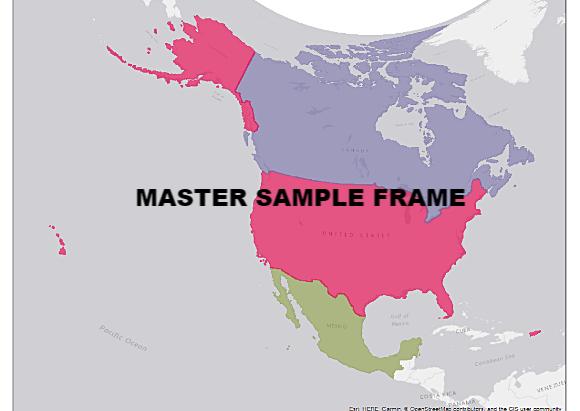 NABat Program Releases Grid-Based Sampling Frame Data