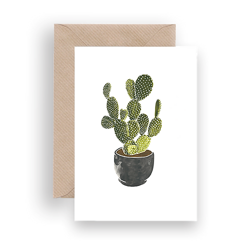 LYKKEFUND CLASSIC CACTI - GREETING CARD