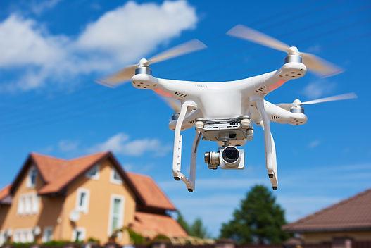 Dachvermessung Drohne