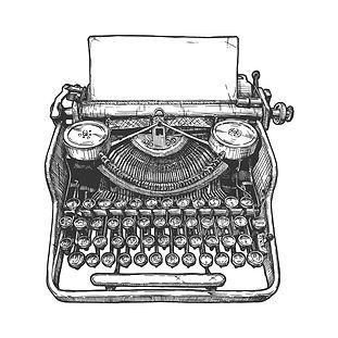 máquina-de-escribir-mecánica-del-vintage
