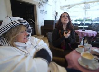 God it's cold in Trogir in February