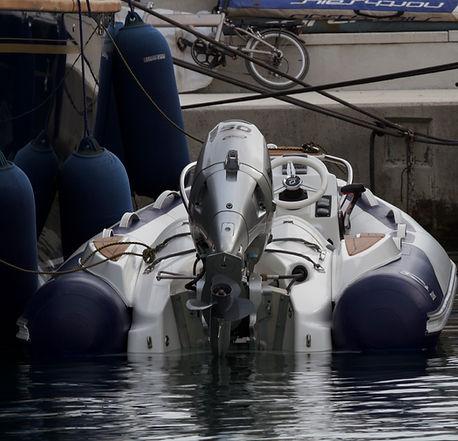 Zodiac Yachtline 380 with Honda 50HP Outboard. Full Options