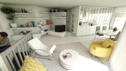 aménagement appartement contemporain
