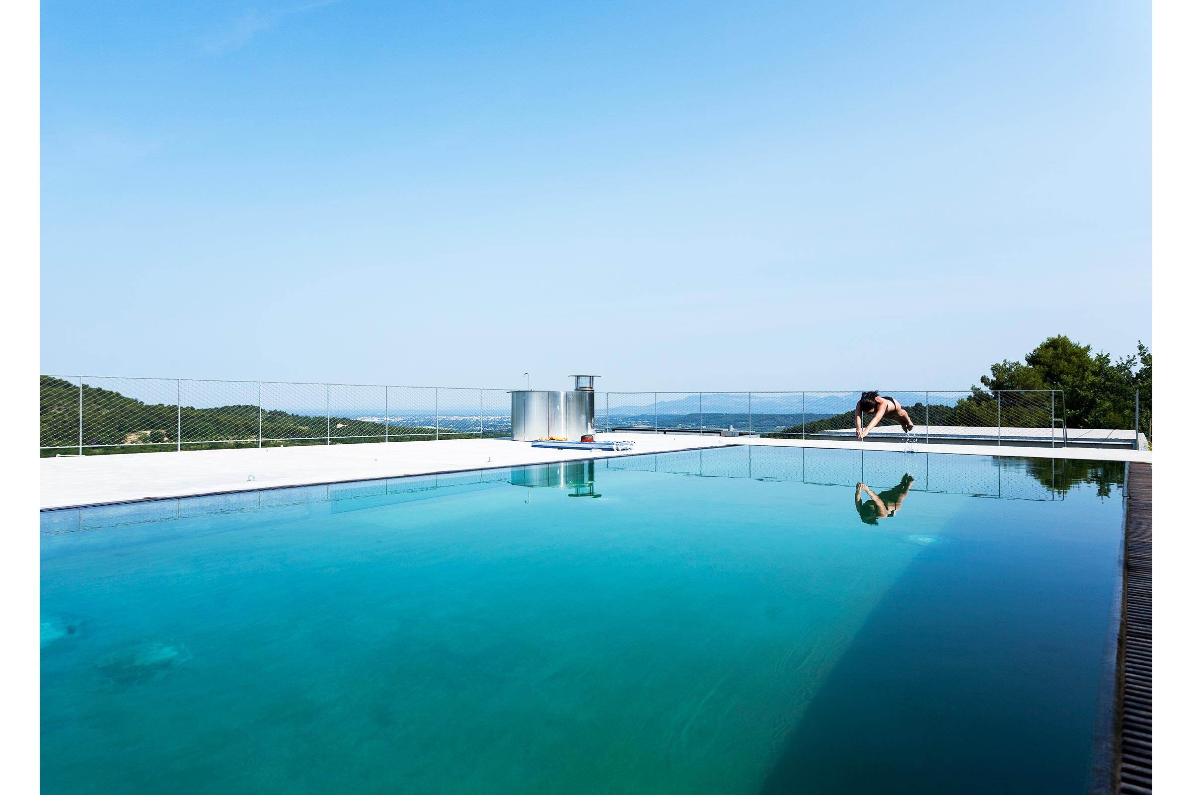 piscine contemporaine