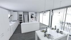 Extension de maison pour une cuisine